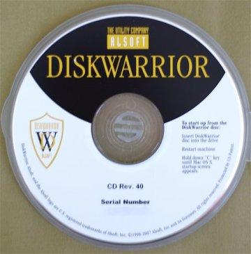 DiskWarrior 4.4 Bootable DVD Mac.rargolkes