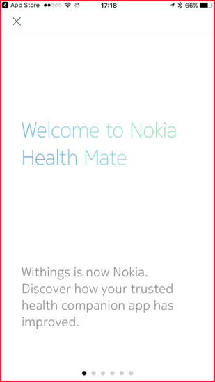 The App Has Seen A Complete Makeover And This Signals Nokias Intentions In Health Market Opening Screens Introduce Some New Features