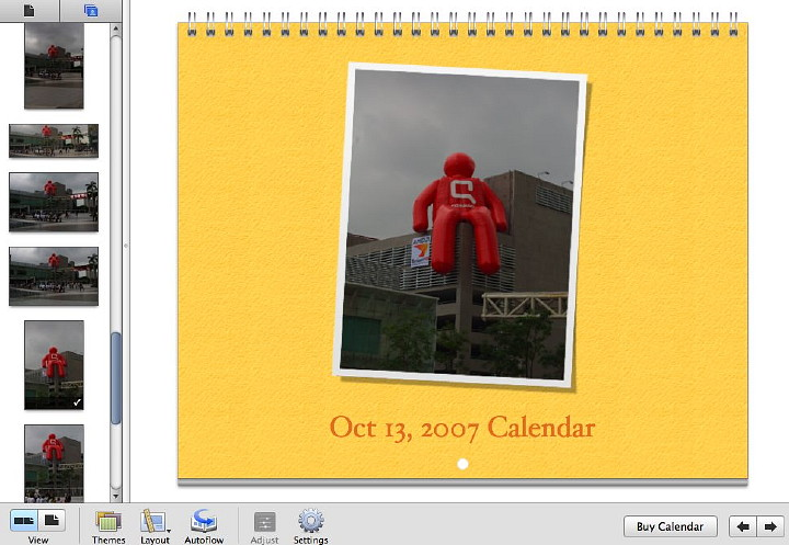 iphoto calendar templates - extensions iphoto 2